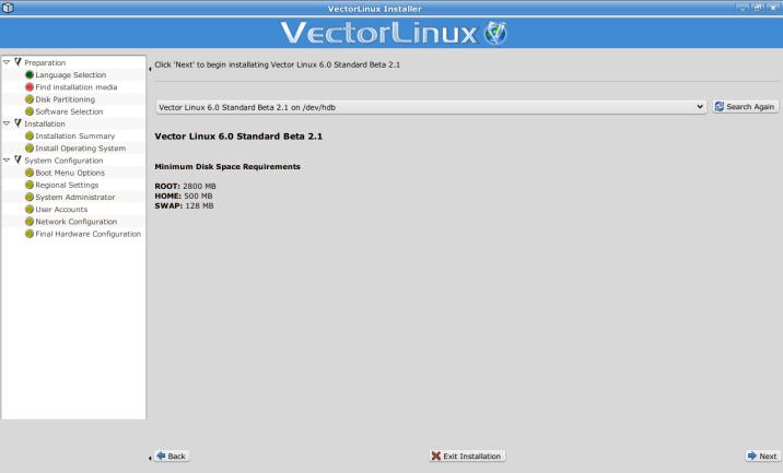 1  Installation Guide — VectorLinux 7 1 documentation